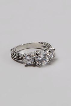 Antiqued ring
