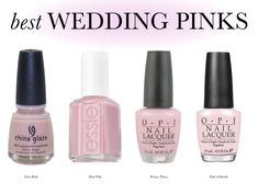 Nail Polish (site full of perfect wedding color nail polish for every season/color)