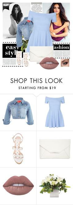 """""""Selena"""" by skyes-are-blue on Polyvore featuring New Look, Oscar de la Renta, Style & Co. and Lime Crime"""