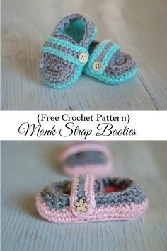 I am pretty excited to share this pattern with you guys, today. There are tons of adorable baby girl bootie patterns, but not so many cute boy's patterns. So this one is for moms (and grandmas, aunties, sisters, and friends) of baby boys!     These Monk Strap Booties are crocheted in the …