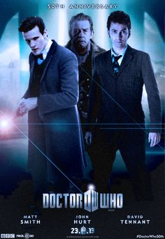Doctor Who 50th Anniversary Special Poster by SuperDude001.deviantart.com on @deviantART