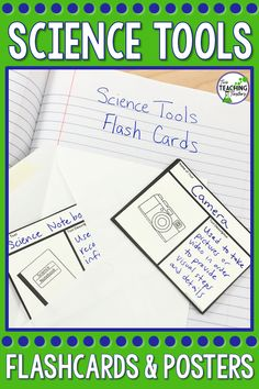 Science Tools: Posters and Activities Science Tools, Science Resources, Science Activities, Teaching Resources, Science Lessons, Classroom Activities, Science Experiments, Science Vocabulary, Teaching Science