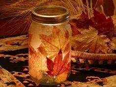 Поделки из осенних кленовых листьев своими руками (44 фото) | Дары природы | DecorWind.ru