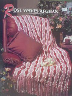 Rose Waves Afghan  Annie's Crochet & Afghan by CarolsCreations77, $1.50