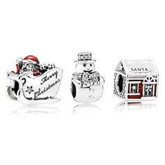 Pandora Santas Grotto Charm Set BB225
