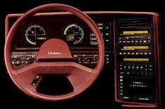 Cadillac Allante digital dashboard from the eighties.
