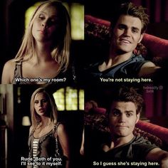 [3x06 - Smells Like Teen Spirit] Rebekah was such a savage in The Vampire Diaries I love her more in The Originals though • #qotp : Rebekah in The Vampire Diaries or in The Originals? #aotp : The Originals • Fc: 11.4K