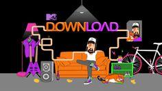 MTV Download by Fizah Rahim, via Behance