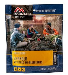 Granola with Milk  Blueberries  Case 6 Pouches -- For more information, visit image link.(This is an Amazon affiliate link)