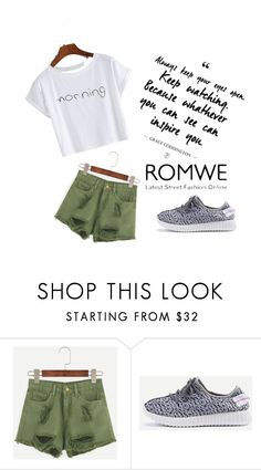 """#10/2 Romwe"" by ahmetovic-mirzeta ❤ liked on Polyvore"