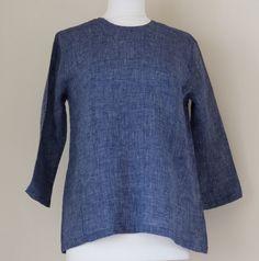 fog linen work - short linen tunic
