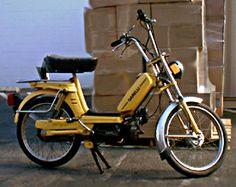 Moped Photo Gallery - 1978 Garelli, Yellow