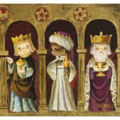 ferrandiz dibujante ... Los Reyes Magos.,