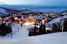 Deer Valley Ski Resort, Park City, Utah. The finest ski resort I've ever been to.
