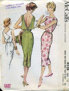 McCalls 4528 copyright 1958