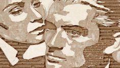 Los retratos de cartón de Giles Oldershaw