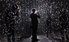 "IlPost - ""Rain Room"", Museum of Modern Art (MoMA), New York, 15 maggio 2012 (Mario Tama/Getty Images) - ""Rain Room"", Museum of Modern Art (MoMA), New York, 15 maggio 2012 (Mario Tama/Getty Images)"