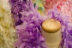 Nothing to it:  How to Attach Feather Boas