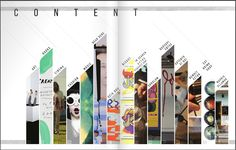 Flipsnack #Magazine double page #layout Inspiration | Inspiring content page #design