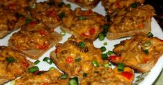 Hanky Pankies Appetizers from Deep South Dish blog - an old school party food, made with a mixture of sausage and beef, seasonings and cheese.