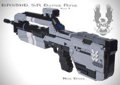 Lego Halo 4Br85HbBattle Rifle Replica by Nick Jensen