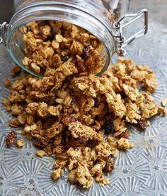 Curry Cashew Savory Granola Recipe