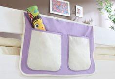 Ticaa Bett-Tasche für Hoch- und Etagenbetten lila-weiß Jetzt bestellen unter: https://moebel.ladendirekt.de/kinderzimmer/betten/etagenbetten/?uid=3e770ef3-3a06-5946-b87f-91ea48b1c022&utm_source=pinterest&utm_medium=pin&utm_campaign=boards #etagenbetten #kinderzimmer #kleinkindmöbel #betten
