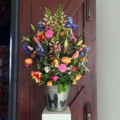 Flower arrangement for Graduation @ Restaurant Fifteen