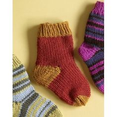 Knit Child's Two Color Socks in Lion Brand Wool-Ease - 70295A. Discover more Patterns by Lion Brand at LoveKnitting. We stock yarns, needles, books and patterns from all of your favourite brands.