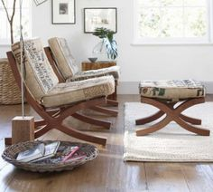 Trying to convince my hubby that these are just the right accent chairs to have in our house!