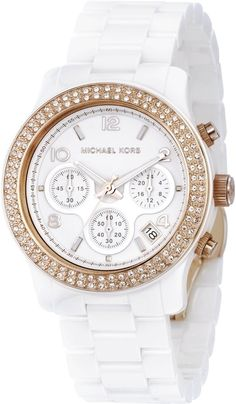 women watches : best white watches for women Michael Kors   Supernatural Style