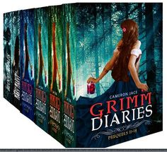 Grimm Diaries Prequels (Volumes 11 - 14: Children of Hamlin, Jar of Hearts, Tooth & Nail & Fairy Tale, Ember in the Wind, Welcome to Sorrow, and Happy Valentine's Slay) by Cameron Jace