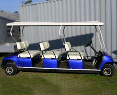 limousine golf cart