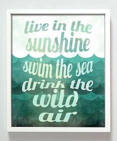 Be at the sea!