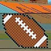 This 4 Foot Football Put In Cup Set includes everything you need to create this 5 feet wide football design along your school's chain link fence. Football Design, Football Fans, Football Stuff, Brown Low Lights, Pep Club, Black Haircut Styles, Locker Decorations, Fence Decorations