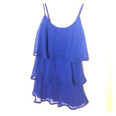 Candie's XS dressy top Candie's dressy top royal blue XS 100 % polyester Candie's Tops