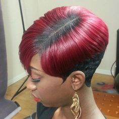 38 Easy Short Hairstyles for American Women!American women are known for their unique beauty and outstanding confidence. American women have a set of their wo Short Quick Weave Hairstyles, 27 Piece Hairstyles, Cute Hairstyles For Short Hair, My Hairstyle, Black Girls Hairstyles, Girl Hairstyles, Braided Hairstyles, Teenage Hairstyles, Unique Hairstyles
