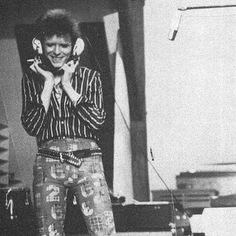 Recording Pin Ups, 1973.