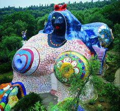 niki de saint phalle tarot garden - Google Search
