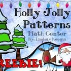 This center is a sample from this product:  Christmas Math Centers  Check it out :)  Enjoy this fun and festive patterning math center.  This cente...