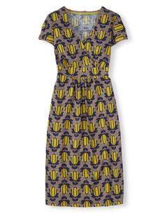 Casual Jersey Dress Day Dresses at Boden Summer Work Dresses, Weekend Dresses, Day Dresses, Simple Style, My Style, Spring Fashion, What To Wear, Short Sleeve Dresses, Stylish