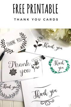 business thank you cards Use these free thank you card printable for any occasion. I'm excited to use this to send out my thank you cards to all my family and friends! Printable Thank You Notes, Thank You Note Template, Thank You Labels, Printable Cards, Free Printables, Printable Templates, Business Thank You Cards, Free Thank You Cards, Thank You Gifts