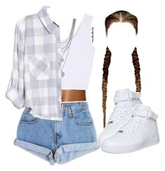 """""""enough"""" by kiaratee ❤ liked on Polyvore featuring Andrea, Levi's, Vince Camuto, Rails and NIKE"""