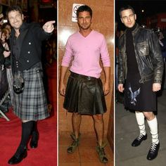 scotsmen are just perfect in a kilt  gerard butler.  ove a man in a kilt!!