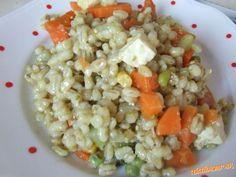 "Krupoto krupove ""rizoto"" so zeleninou a tofu Tofu, Grains, Rice, Seeds, Laughter, Jim Rice, Korn"