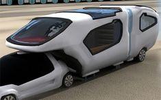 ForFreedom Caravan With Aerodynamic Design For Urban Couple | Tuvie