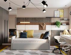 χρωματιστό σπίτι: Ρετρό στιλ με κομψή σχεδίαση και επινοούνται