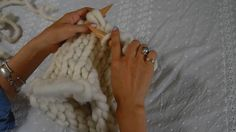 How to Knit Helsinki Hat (Knitting in the Round) on Vimeo