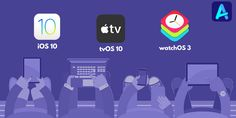 #Apple rolls out #iOS10, #WatchOS3 and #tvOS10 with new features to the public. Download these updates to avail the benefits of their amazing features.