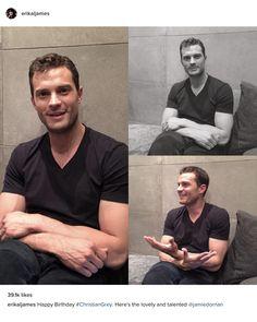 EL James shares photos from the Fifty Shades Darker set on Christian Grey's birthday - Feb/Jul 2016